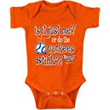 is it Just Me? Anti-Giants NB-4T Royal Onesie or Toddler Tee Smack Apparel Los Angeles Baseball Fans