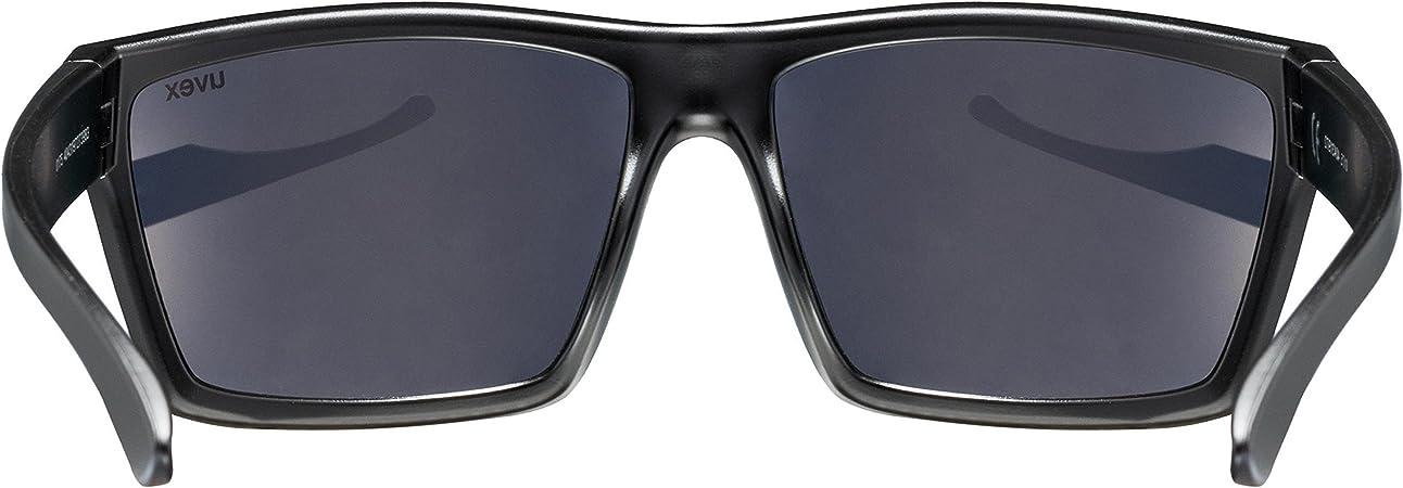 Uvex lgl 29 Lunettes de Soleil Unisex-Adult Black Mat One Size