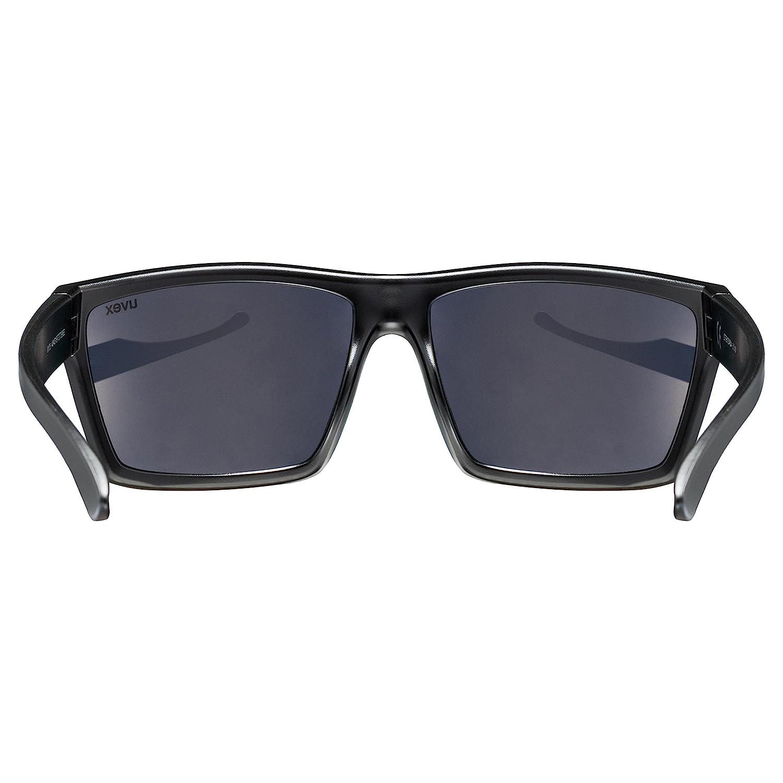Uvex 530947 Lunettes de soleil Blackmat Mirroryellow SkyokL