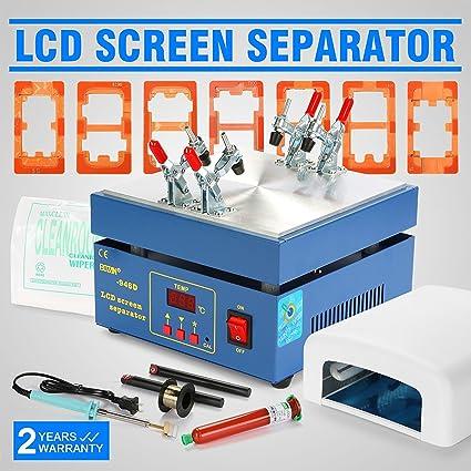 Autovictoria LLCD Separador De Separador De La Máquina De Separador De La Pantalla Del LCD Para