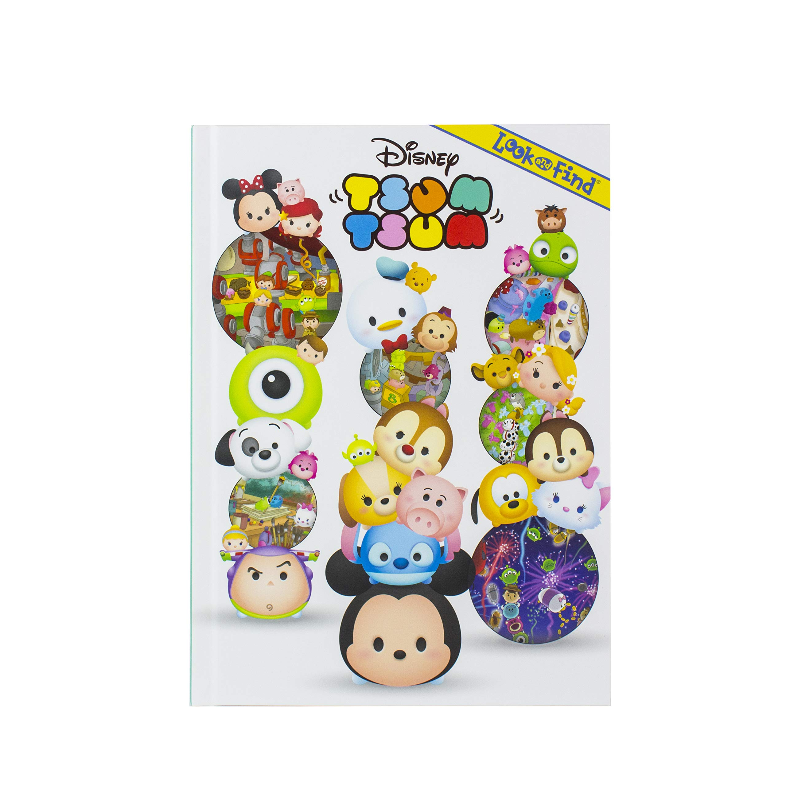 Read Online Disney - Mickey Mouse , Minnie Mouse, and More! Tsum Tsum Look and Find - PI Kids ebook