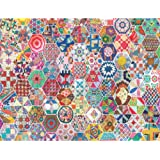 Springbok's 500 Piece Jigsaw Puzzle Crazy Quilts