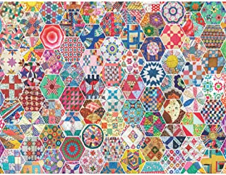 product image for Springbok's 500 Piece Jigsaw Puzzle Crazy Quilts