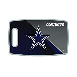"""The Sports Vault NFL Large Cutting Board, 14.5"""" x 9"""