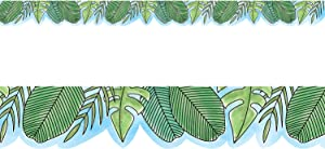Creative Teaching Press Border Safari Friends Jumbo Leaves Ctp 8336 with