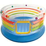 "Intex Jump-O-Lene Transparent Ring Inflatable Bouncer, 71"" X 34"", for Ages 3-6"