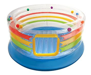 Intex Jump-O-Lene Transparent Ring Inflatable Bouncer, 71 X ...