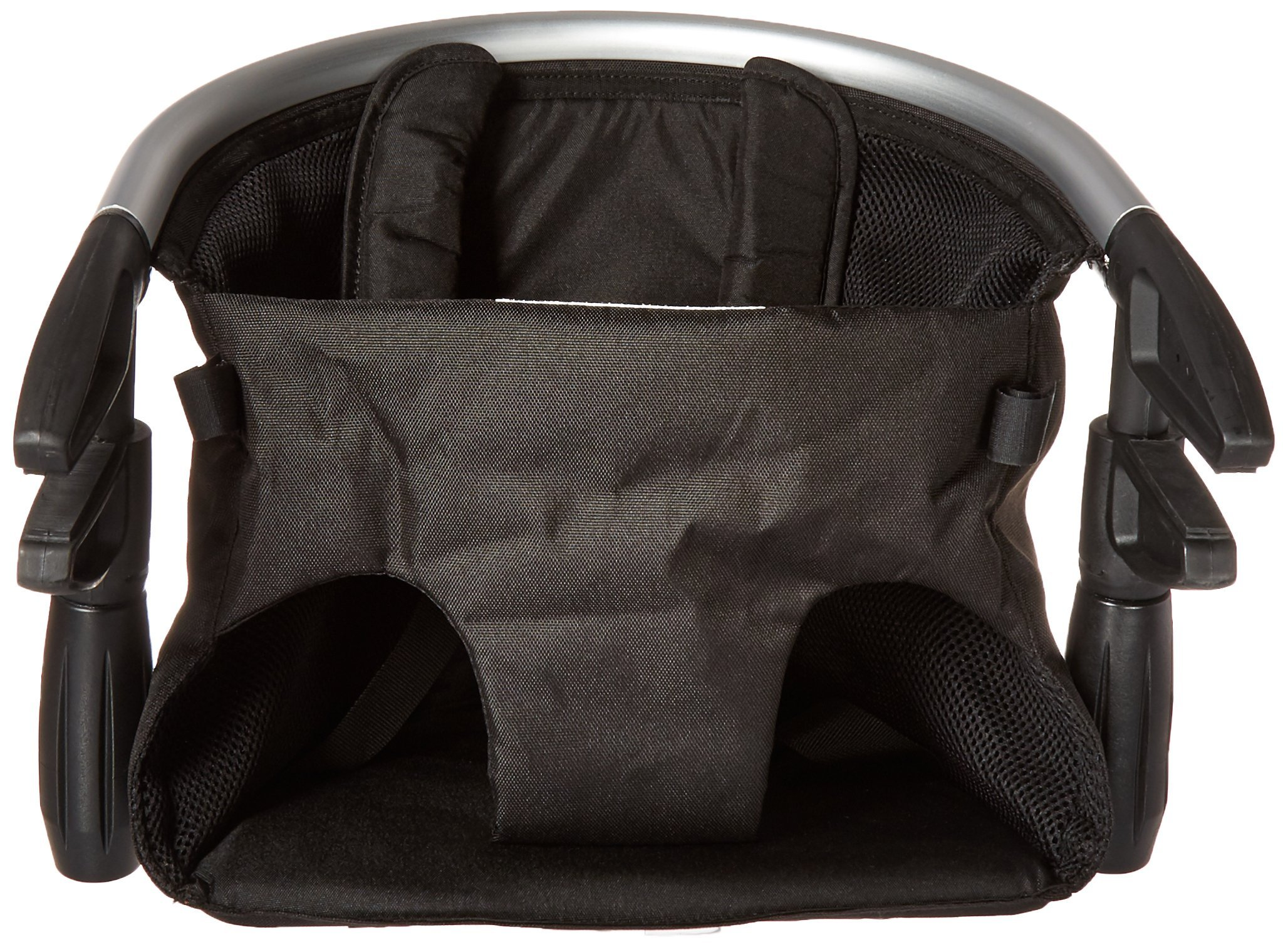 phil&teds Lobster Clip-On Highchair, Black - Award Winning Portable High Chair - Includes Carry Bag and Dishwasher Safe Tray - Hygienic and Easy Clean - Safe and Secure - Ideal For Home and Travel by phil&teds (Image #2)