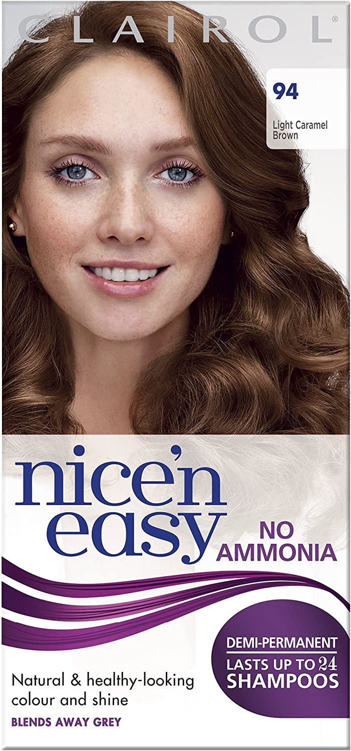 Nice N Easy By Lasting Colour 94 Light Caramel Brown Amazon Ca Electronics