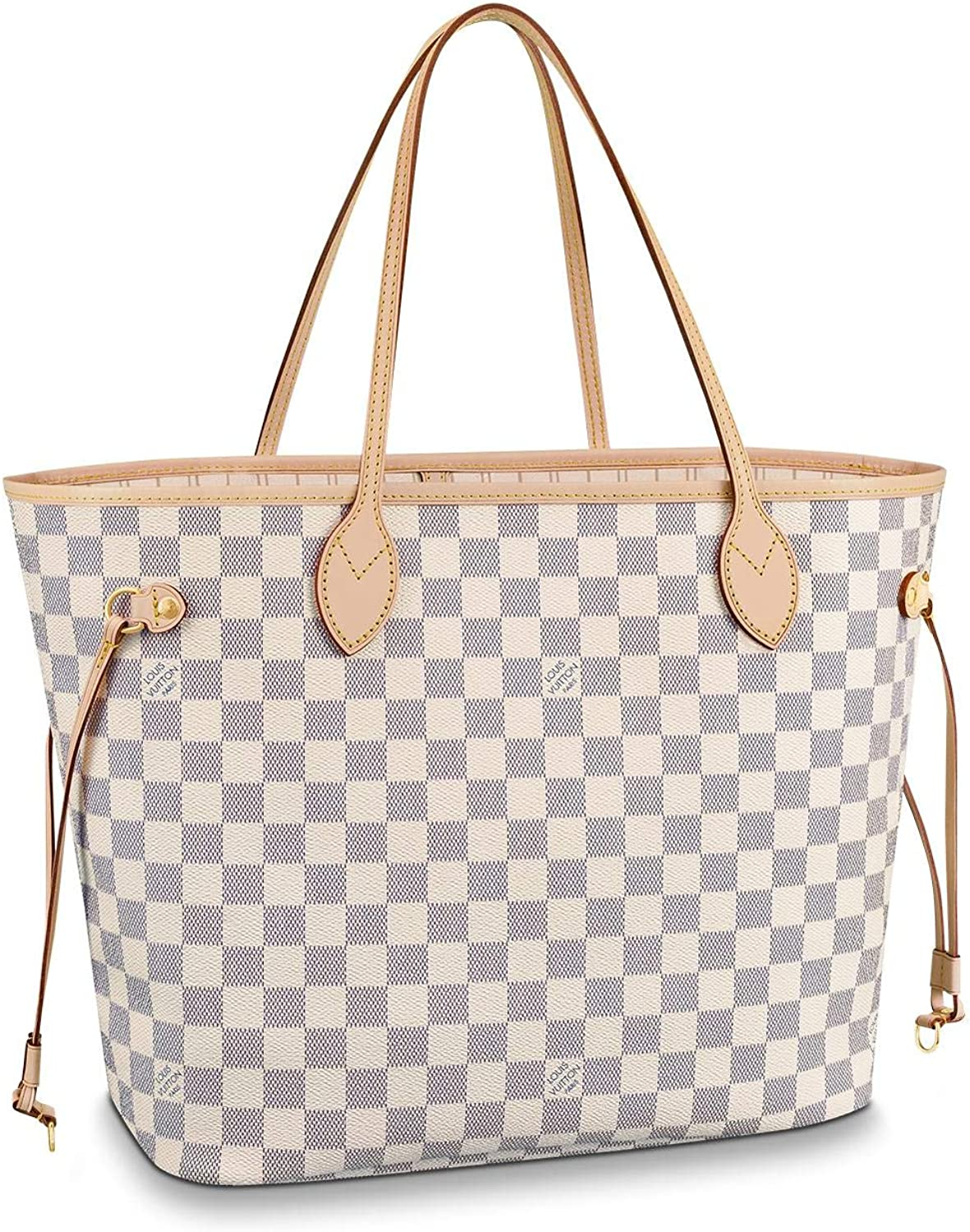 Louis Vuitton Neverfull MM Damier Azur Bags Handbags Purse