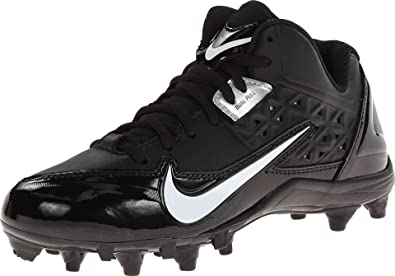 ddaf9ba8 Nike Kids Alpha Strike 3/4 TD 579372 001 Black White Football Cleats