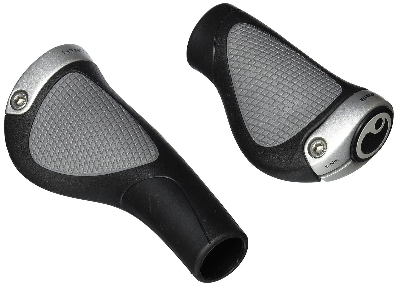 Black//Silver Ergon GP1 Grips Rohloff//Nexus