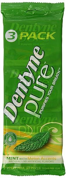 De Dentyne, chicle de 80 unidades (paquete de 4): Amazon.com ...