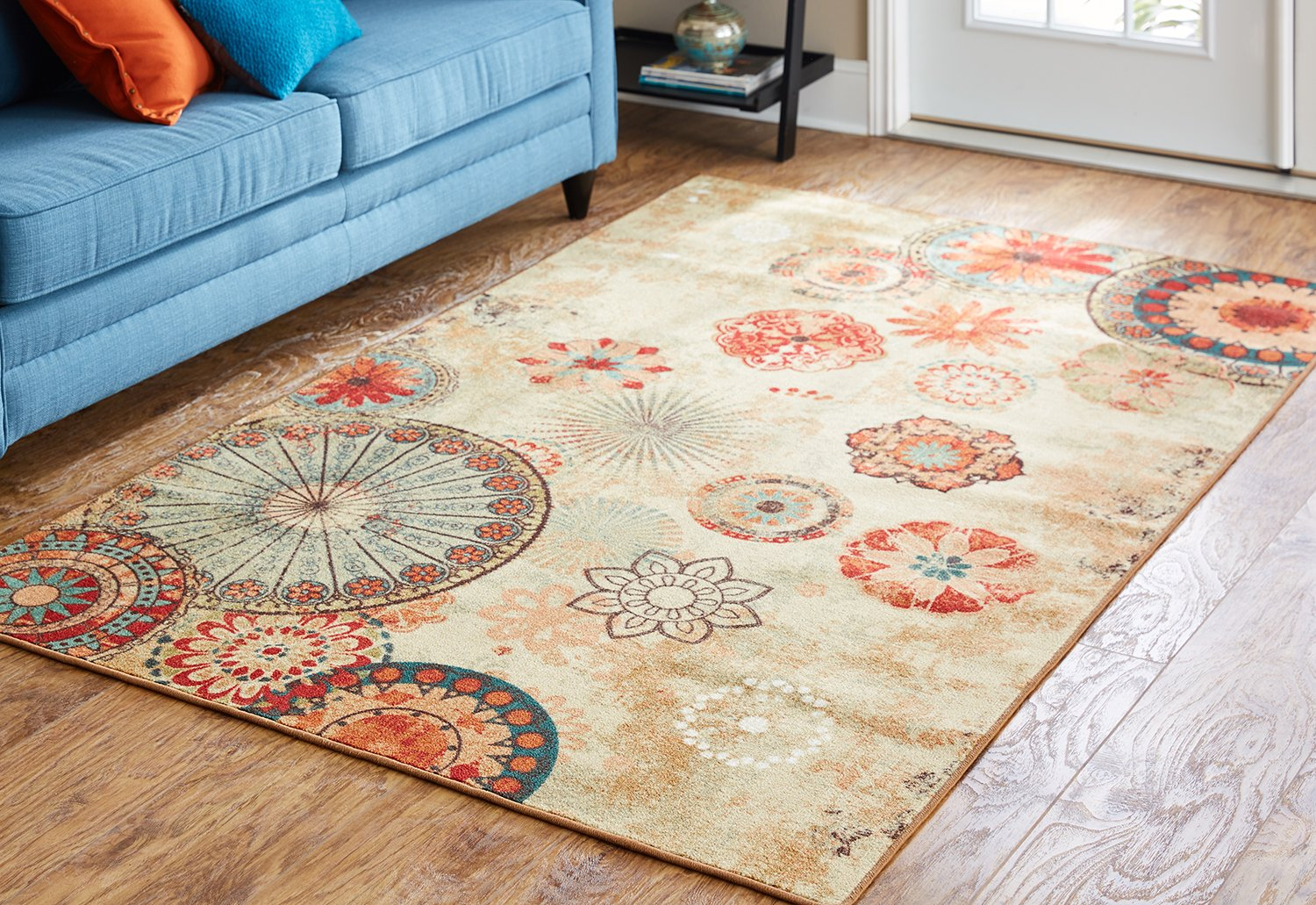 Mohawk Home Alexa Medallion Indoor/Outdoor Printed Area Rug, 5'x8', Multicolor by Mohawk Home