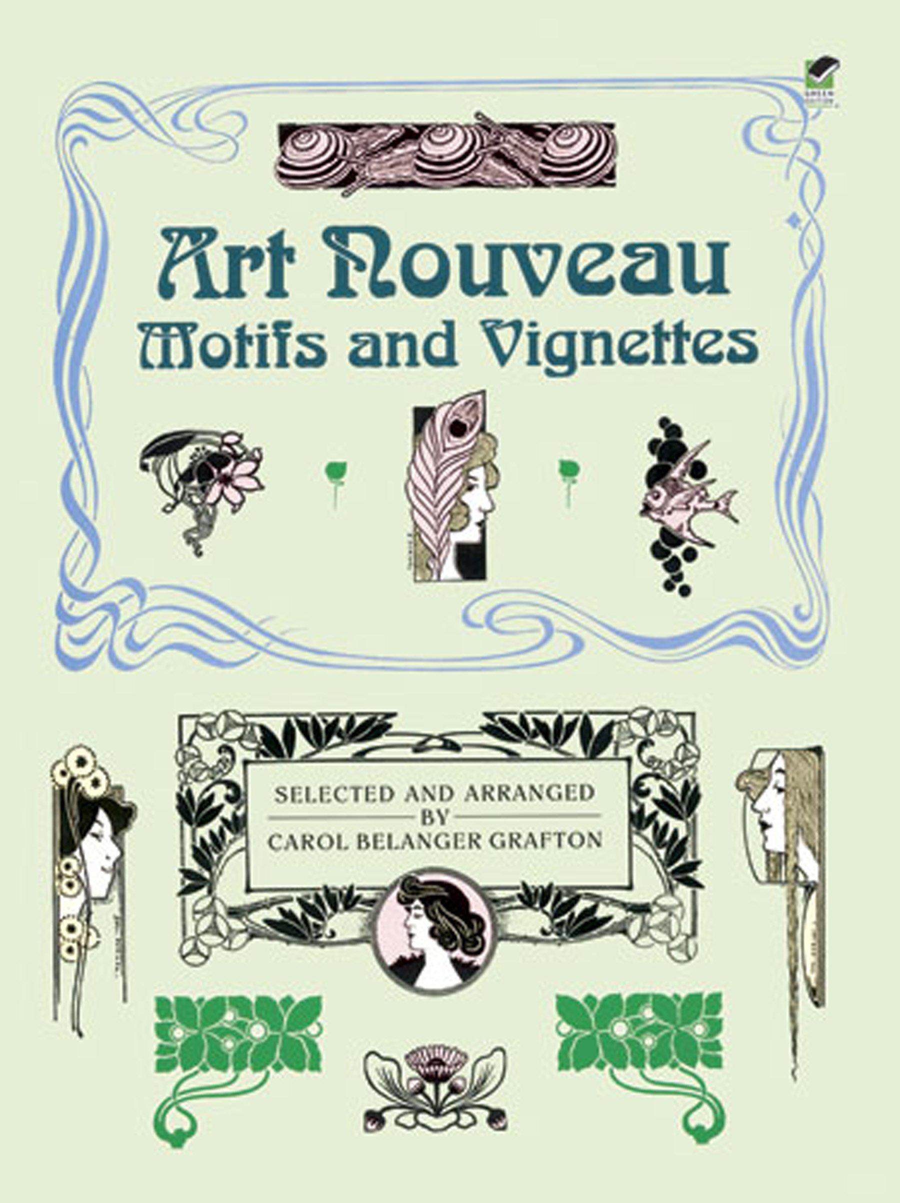 Art Nouveau Motifs And Vignettes  Dover Pictorial Archive Series