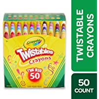 Crayola Mini Twistables Crayons, Amazon Exclusive, Gift for Kids, 50 Count