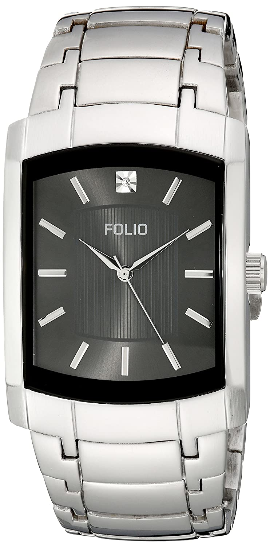 Amazon.com: Folio Mens ZRT15551S11 Analog Display Quartz Silver Watch: Watches