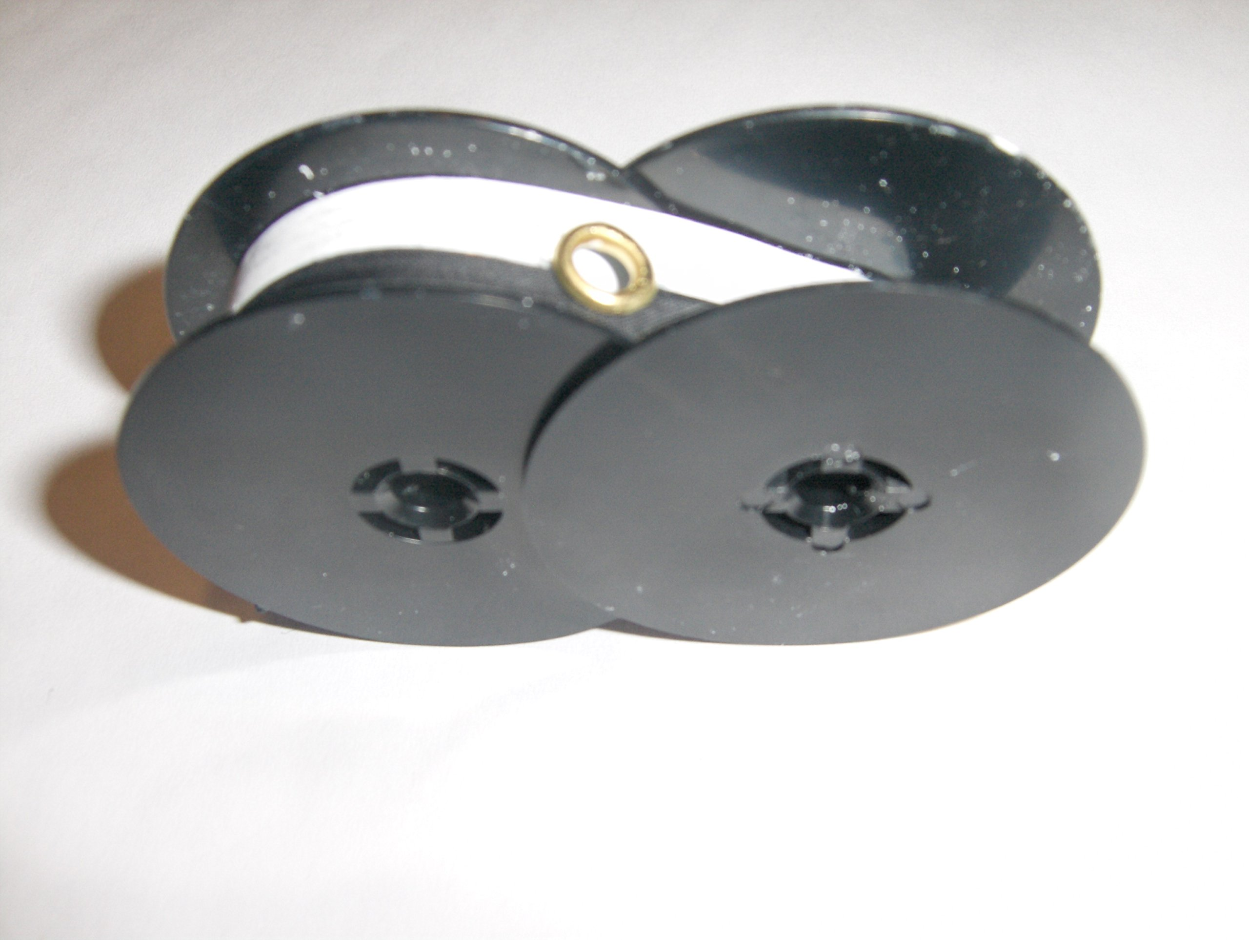 Nu-kote Model BW278 Black Nylon / White Correction Tape Typewriter Ribbon