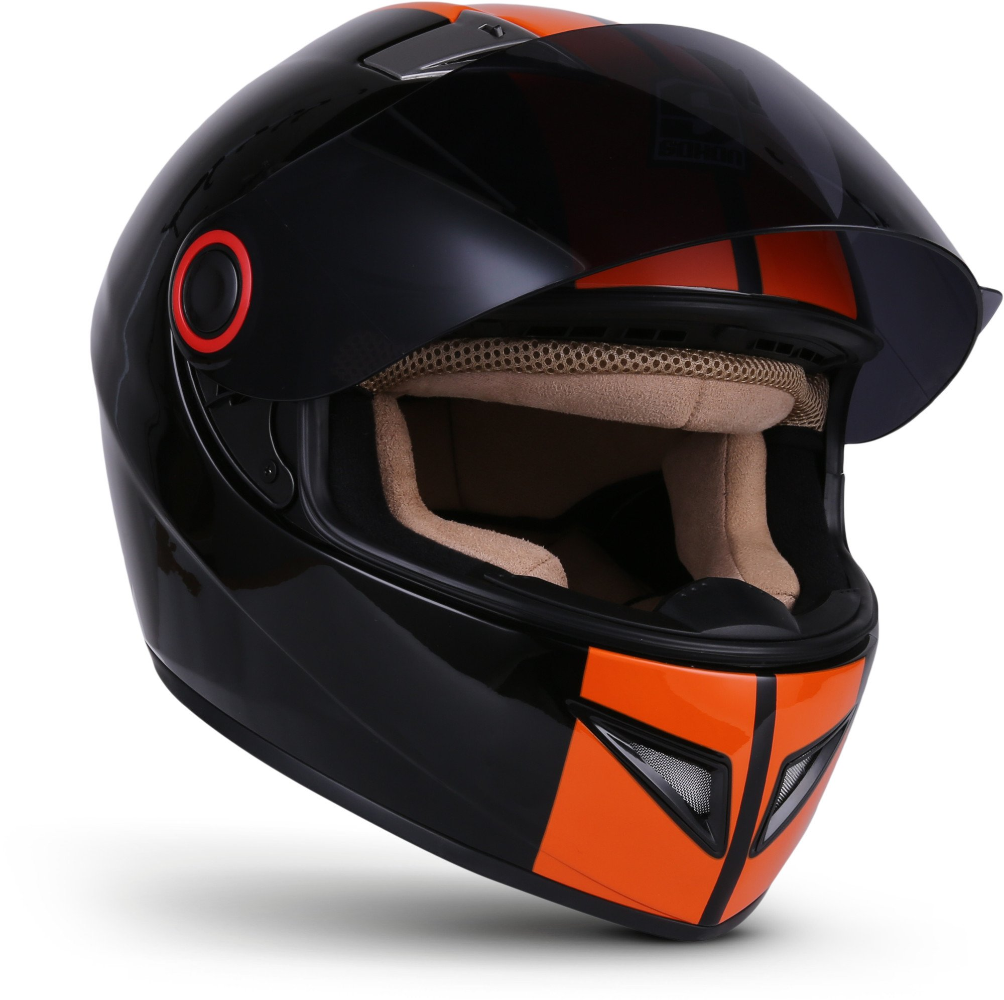 53-54 cm SOXON Motorcycle Helmet Silver Size S