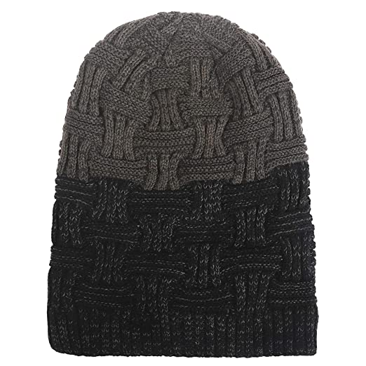 cddfac61020 GreatParagon Winter Hats for Men Knit Hat Beanie Slouchy Hats Skull ...