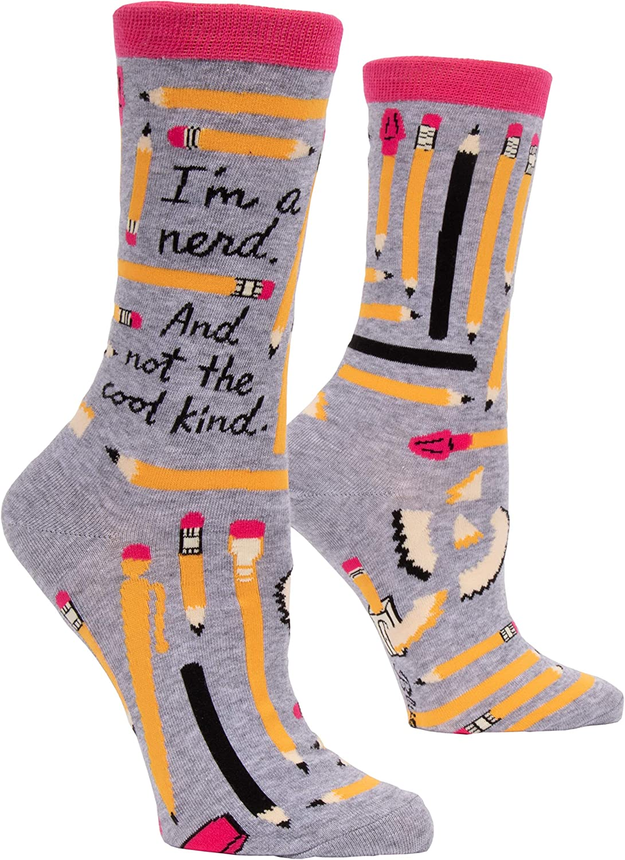 I'm A Nerd Crew Socks