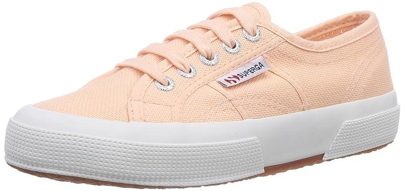 Superga 2750 Cotu Classic Sneakers Low-Top Unisex Damen Herren Rosa (Peach)