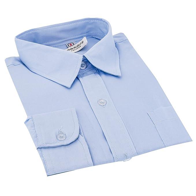 festliche Jungen Hemden von Omnibus (Gr. 80-164) in 4 Farben ... c041c39be7