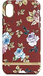 Richmond & Finch Red Floral iPhone X Case, Red Floral, iPhone X