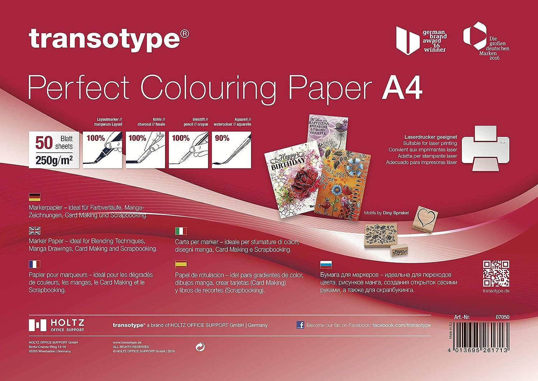 Copic - Papel para manualidades (tamaño A4, 50 hojas)