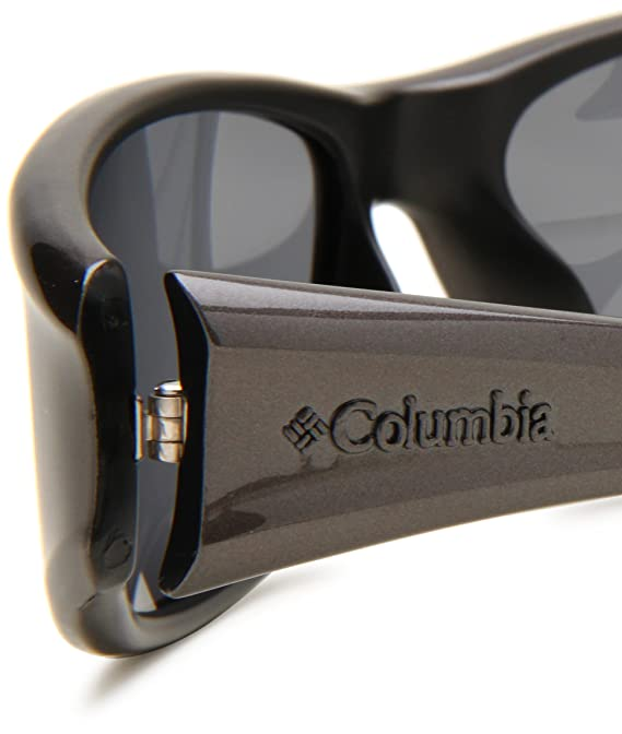 36ce191d6b05 Amazon.com: Columbia Borrego Sport Sunglasses,Dark Metallic Frame/Black  Lens,one size: Clothing