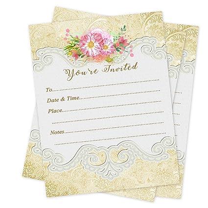 amazon com anniversary invitations birthday luncheon baby shower