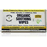 Doctor Butler's Organic All Natural Chemical Free Soothing Wipes... anytime use for Babies and the Entire Family