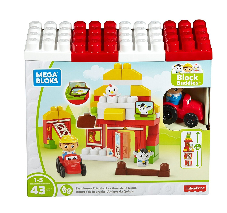 Mega Bloks Farmhouse Friends Building Set