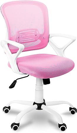 Medidas de la silla Brisa: 60 cm (ancho) x 93 cm-101 cm (alto) x 60 cm (fondo). Silla de escritorio