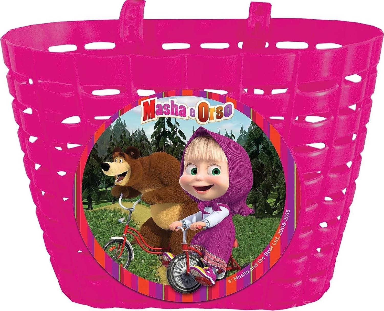 Fahrradkorb vorne Kinder Lenker compatible with Masha and the bear Orso 80213 6156 M