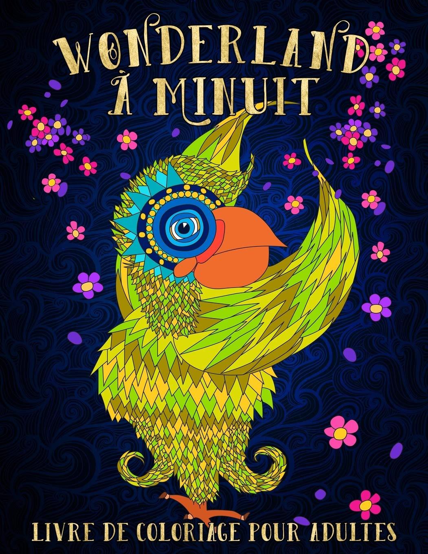 wonderland livre de coloriage pour adultes un livre de coloriage fantaisiste volume 1 french edition