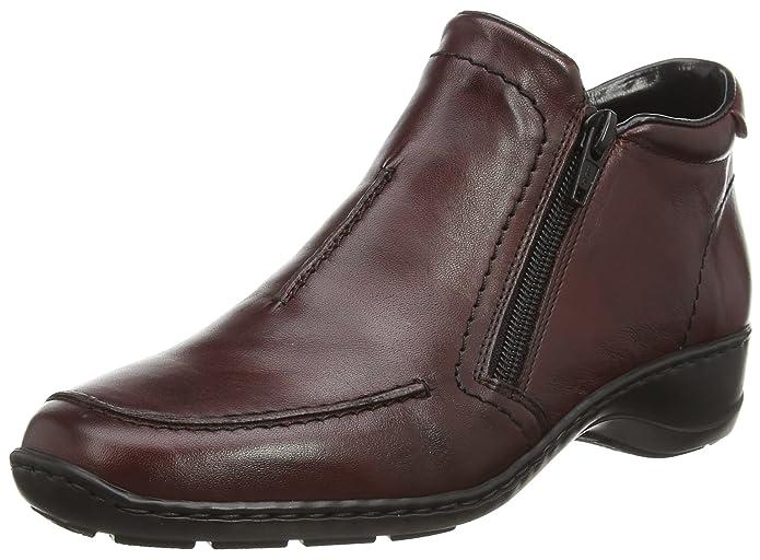 Rieker Damen 58386 Kurzschaft Stiefel: : Schuhe CdLe3