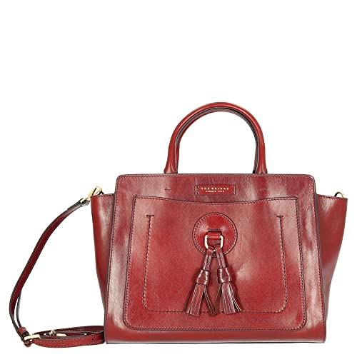 273c56ccb349 THE BRIDGE Santacroce Two Handle Bag Rosso Ribes  Amazon.co.uk  Shoes   Bags