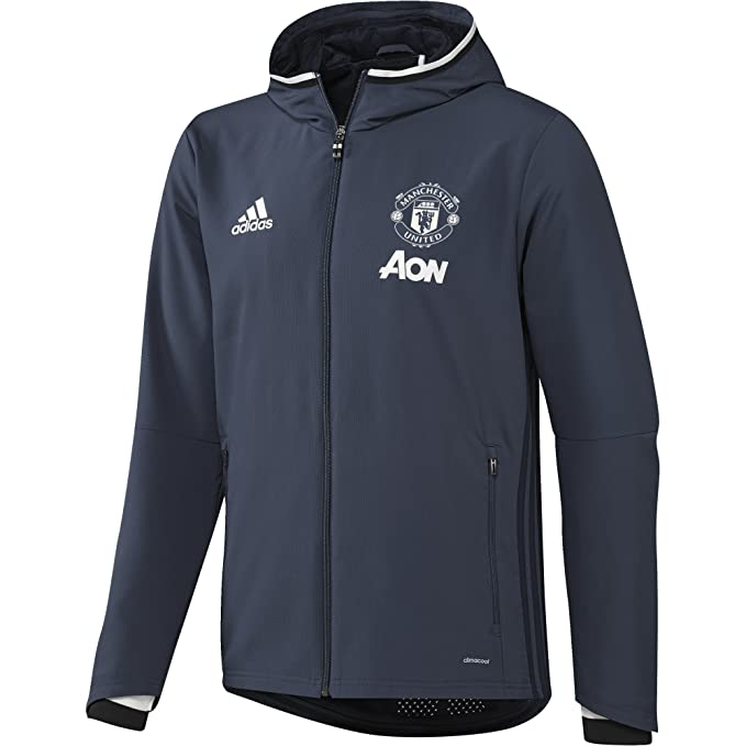adidas Manchester United Pre Jkt Sudadera, Hombre: Amazon.es: Ropa ...