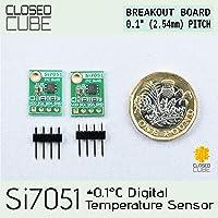 closedcube si7051± 0,1°C Digital I2C Breakout con sensor