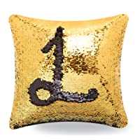 Livedeal Reversible Sequins Mermaid Pillow Cases 40x40cm Deals