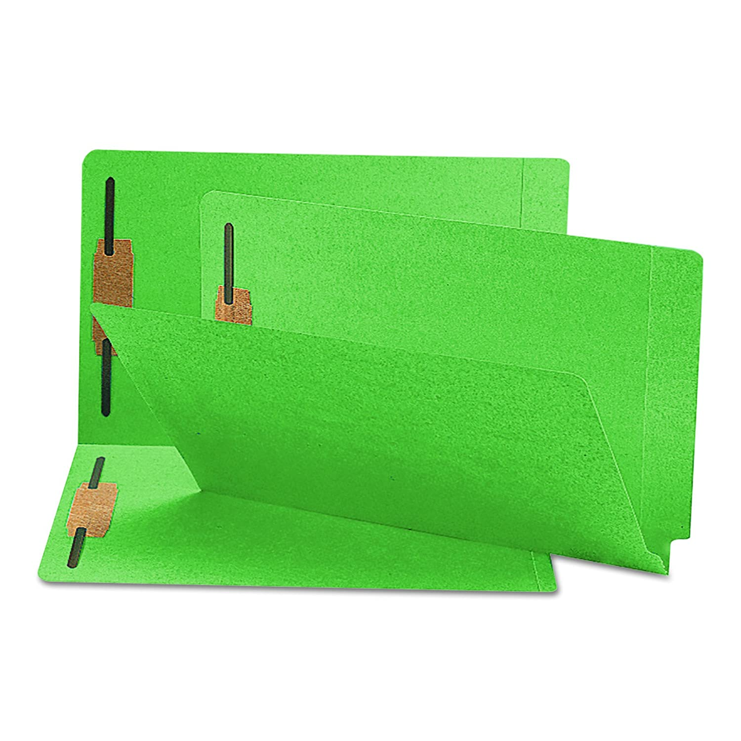 Smead Colored Fastener Folders Shelf-Master Legal Green - Carpeta (38,7 cm, 24,1 cm, Verde, 50 piezas)