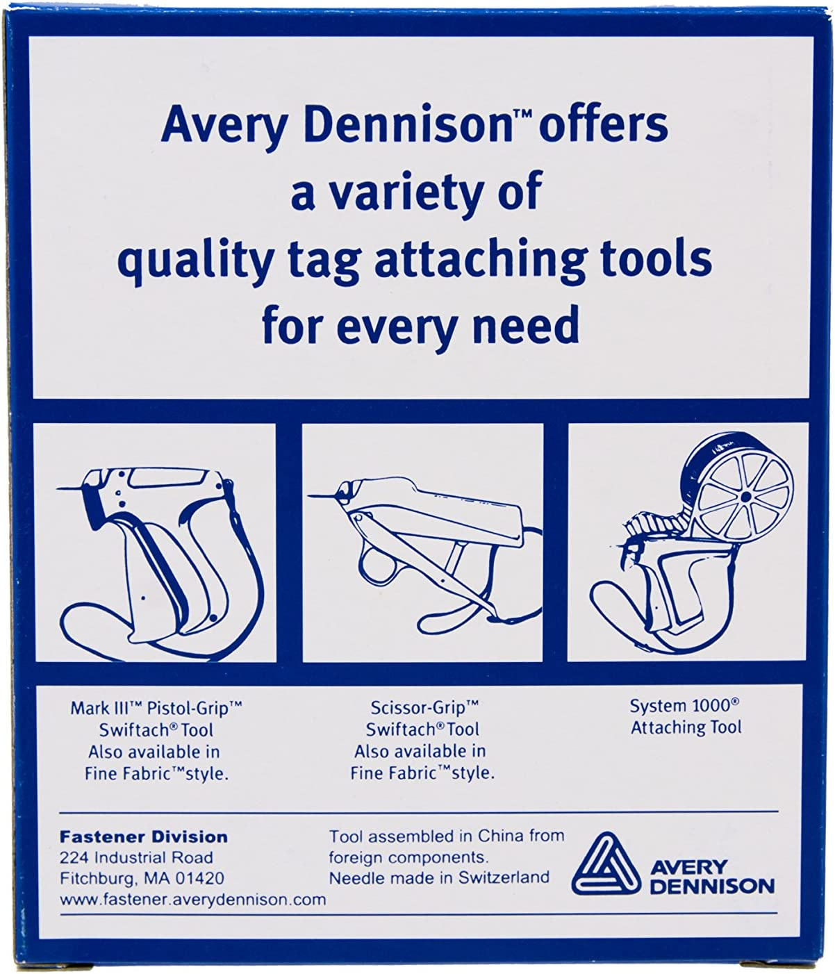 10 Genuine Avery Dennison 10312 Fine Tagging Guns 10-Pack Avery Dennison Mark III Fine Tagging Gun