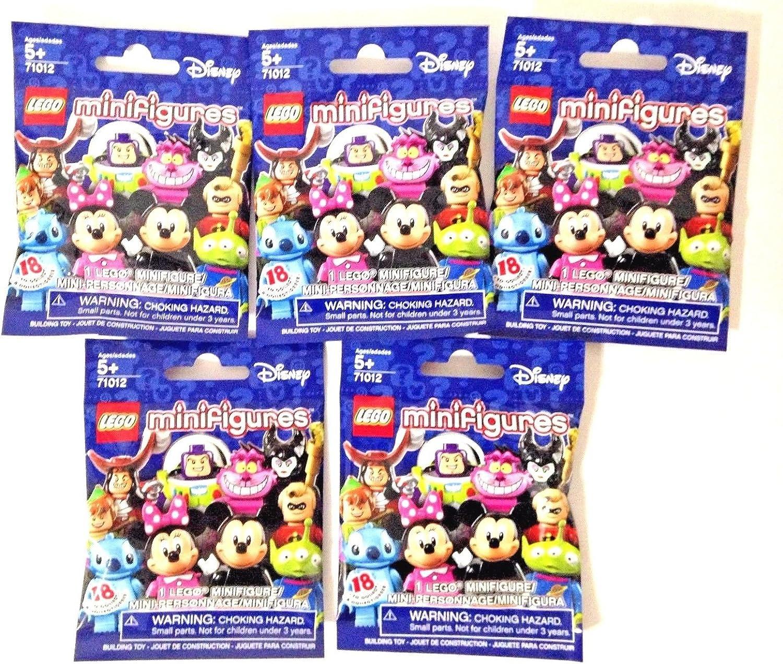 LEGO Disney Minifigures Bundle of 5 (71012) Styles May Vary