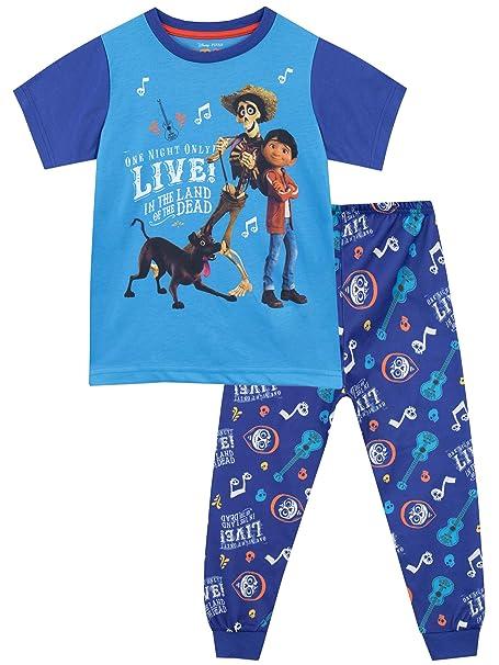6605a44d6d Disney Pijamas de Manga Corta para niños Coco  Amazon.es  Ropa y accesorios
