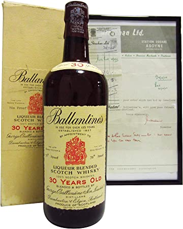 Ballantines - Liqueur Blended Scotch - 30 year old Whisky