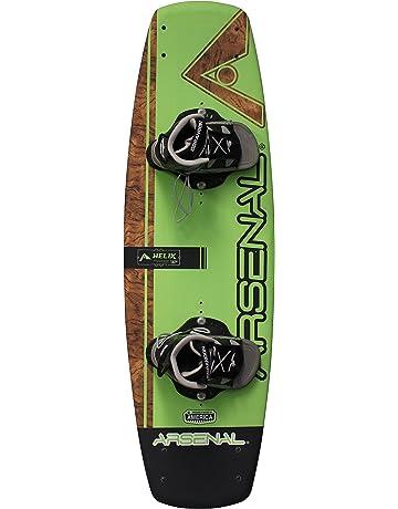 Hydroslide Helix Wakeboard, Green, 56-Inch