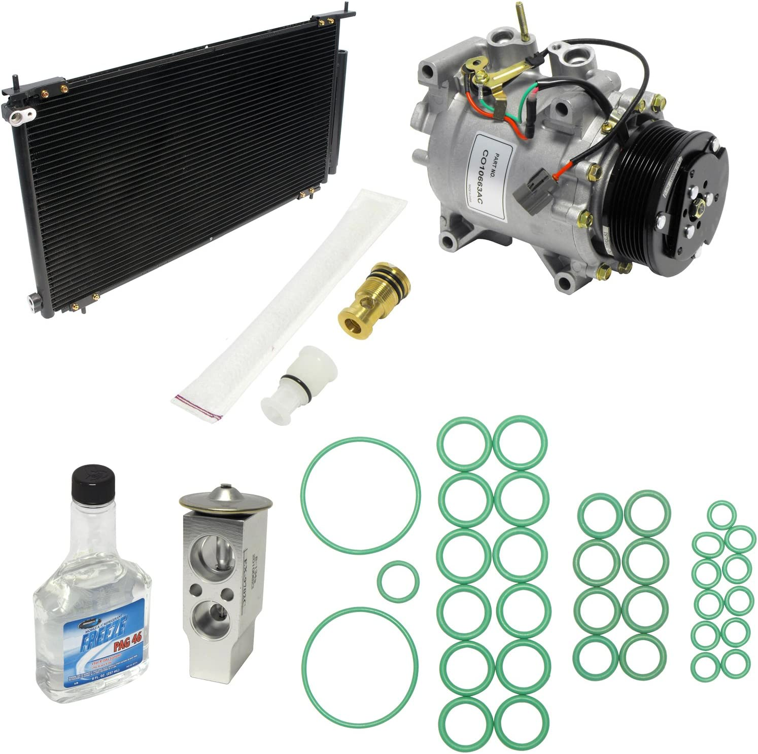 UAC KT 1272A A//C Compressor and Component Kit 1 Pack