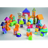 Boikido Wooden Building Blocks - 50 Pieces
