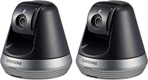 Samsung SNH-V6410PN SmartCam Pan/Tilt Full HD 1080p Wi-Fi IP Camera Bundle Double Pack